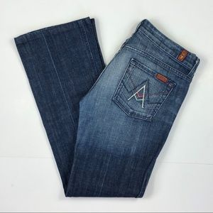 7 for all Mankind A-pocket Jeans- size 30